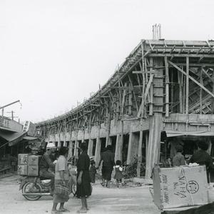 沖縄風景今昔 vol.7 市場中央通り