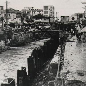 沖縄風景今昔 vol.12 むつみ橋通り