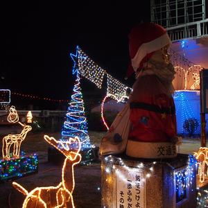 西原ソニー坊やのクリスマスイルミネーションがすごい