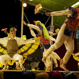 胡蝶の舞は沖縄のコサックダンス