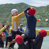 第93回渡名喜島水上運動会を見て来た