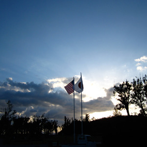 オクマの軍ビで半日アメリカ体験