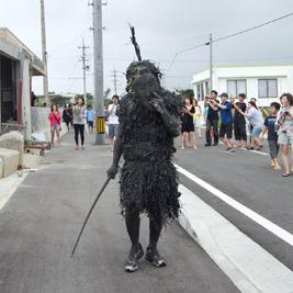 宮古島島尻地区の奇祭パーントゥ
