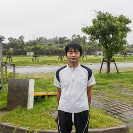 台風の日に50Mを走ると速く走れるのか