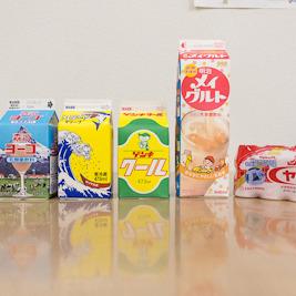 乳酸菌飲料飲み比べ