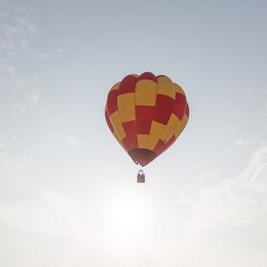 竹富町で熱気球