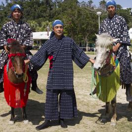 70年ぶりに復活した沖縄競馬「ンマハラセー」を見てきた