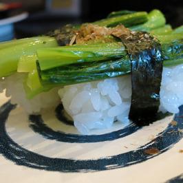 那覇空港にある回転寿司のメニューが面白い