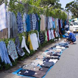 ベトナム通りで3000円でどこまでコーディネイトできるのか