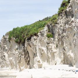粟国島の地質が何だかスゴい