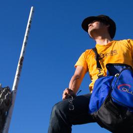 沖縄で富士山に登山してみる