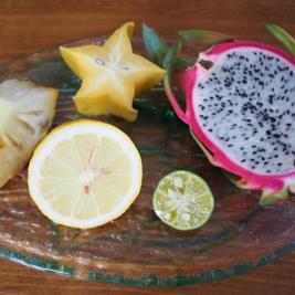 沖縄のフルーツでレモン電池をつくろう