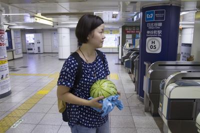 東京では今帰仁スイカで電車に乗れ・・・る?