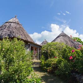 昔の沖縄も知ることができる与論民俗村