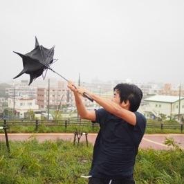 風に強い傘は台風に耐えられるのか