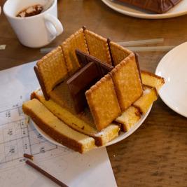 お菓子で古民家を作ろうwith建築事務所
