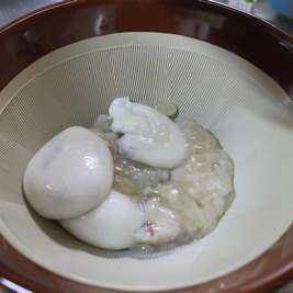 クブシミの卵を食べてみた