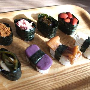 沖縄っぽい寿司ネタを考える