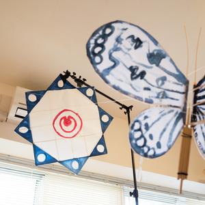 沖縄の伝統凧を作って揚げてみる
