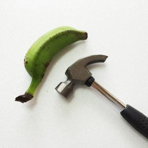 島バナナで釘が打ちたい その2〜粘土編〜