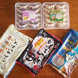 沖縄餃子食べ比べ