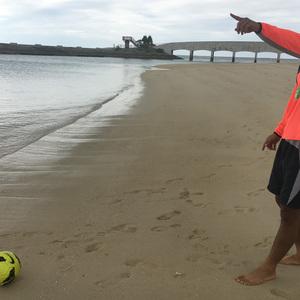 沖縄の海でタイガーショットは会得できるのか