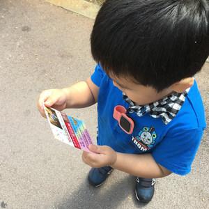 2歳10ヶ月の息子は観光施設で何を見ているのか